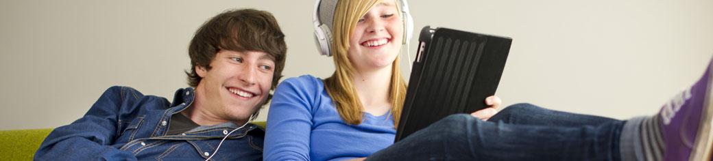 man women labtop - broadband access - UTStarcom
